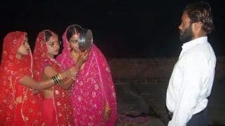 It Happens Only in India! 3 UP Sisters, Married to The Same Man Observe Karwa Chauth For The Husband They Share