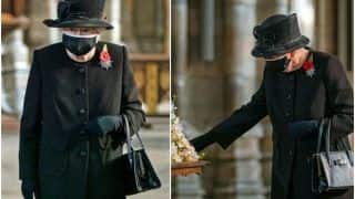 Queen Elizabeth II Spotted Wearing a Mask For The First Time in Public Since Covid-19 Outbreak