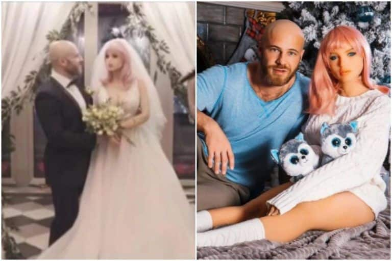 Bizarre! Bodybuilder Marries His Sex Doll in a Creepy Ceremony, Says 'She's a Tender Soul Inside' | Watch