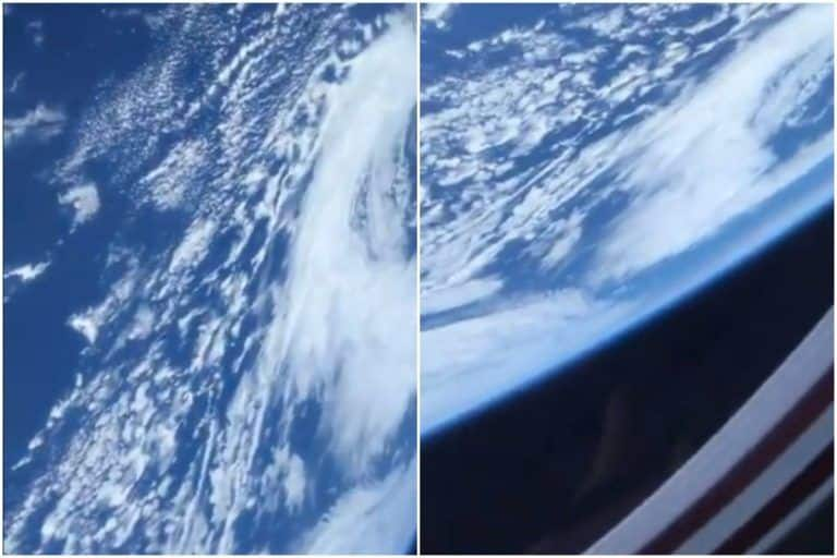 Astronaut Shares Breathtaking Video of Earth From Space, Leaves Twitter Awestruck | Watch