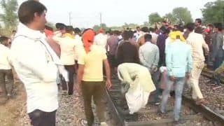 Protest For Reservation: Rajasthan Gujjars Block Railway Tracks in Bharatpur, Trains Affected