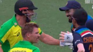India vs Australia 2nd ODI: मैच के बीच में ही KL Rahul ने एरोन फिंच से लिए ऐसे मजे, देखें VIDEO