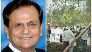 Congress Leader Ahmed Patel Laid to Rest in Gujarat's Bharuch, Rahul Gandhi Attends Funeral