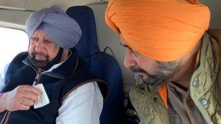 पंजाब: CM कैप्टन अमरिंदर सिंह ने नवजोत सिंह सिद्दू को बुलाया लंच पर, क्या रिश्तों की बर्फ पिघलने लगी