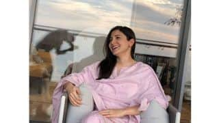 Pregnant Anushka Sharma Sets Maternity Fashion Right In Rs 15K Lilac Suit By Brand Tokree