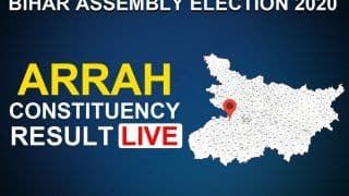 Arrah Constituency Election Result LIVE: Bharatiya Janata Party Leading