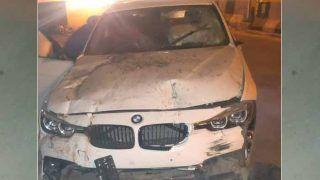 दिल्ली में हंगामा मचा रहे युवकों ने BMW कार से पुलिस कॉन्स्टेबल को टक्कर मारी, दोनों पैर टूटे