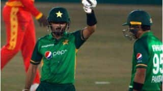 Pakistan vs Zimbabawe 2nd ODI: पाकिस्तान ने जिम्बाब्वे को 6 विकेट से हरा सीरीज पर किया कब्जा