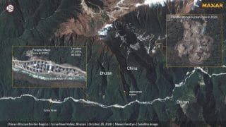 Chinese Ammunition Bunkers Part of Villages Set Up Near Dolkam Face-Off Site, Show Satellite Images