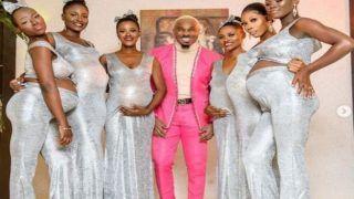 Viral: दोस्त की शादी में 6 प्रेग्नेंट महिलाओं संग पहुंचा शख्स, कहा- मैं ही हूं सबका बाप...
