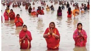 With COVID Guidelines, Jharkhand Allows Chhath Puja at River Banks, Ponds | Check SOPs Here