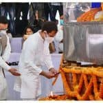 Congress Leader Rahul Gandhi Pays Last Respects to Former Assam Chief Minister Tarun Gogoi