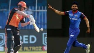 Live ipl score 2020 dc vs srh live updates ball by ball commentary of delhi capitals vs sunrisers hyderabad match at sheikh zayed stadium abu dhabilive ipl score 2020 dc vs srh live updates ball b 4202236