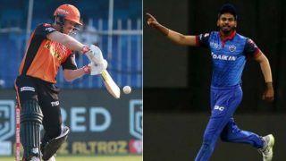 LIVE IPL SCORE 2020, DC vs SRH: आज जीतने वाली टीम को मिलेगी सीधे फाइनल में जगह, शाम 7 बजे होगा टॉस