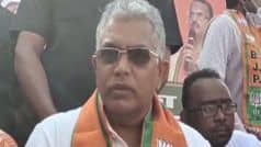 पश्चिम बंगाल दूसरा कश्मीर है, हर दिन आतंकवादियों को गिरफ्तार किया जा रहा है: बीजेपी नेता घोष