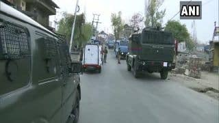 Hizbul Mujahideen Chief Commander Shot Dead During Gunfight in Srinagar, His Associate Arrested