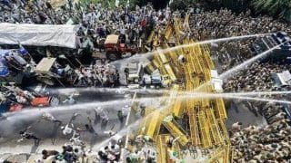 Tear Gas, Water Cannons: 10 Pictures & Videos to Show How Farmers Who Feed Us Are Being Treated | Watch