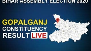 Gopalganj Assembly Constituency Result 2020 LIVE Updates: Sitting BJP MLA Subhash Singh To Retain His Seat, Defeats BSP's Sadhu Yadav