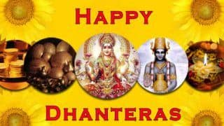 Dhanteras 2020 Date, Time, Significance And How It's Celebrated