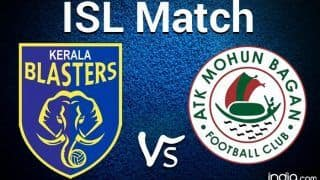 ISL 2020-21 Highlights KBFC vs ATKMB Match 1 Goa: Roy Krishna Scores as ATK Mohun Bagan Beat Kerala Blasters 1-0