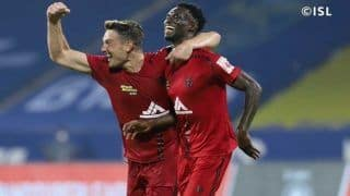 ISL 2020 Match Report: NorthEast United Hold Kerala Blasters to 2-2 Draw After Late Strike From Idrissa Sylla
