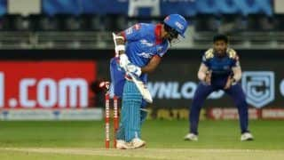 IPL 2020, MI vs DC Playoffs Qualifier 1: Shikhar Dhawan Clean Bowled by Jasprit Bumrah, Delhi Opener Gets Trolled After Hat-Trick of Duck | POSTS