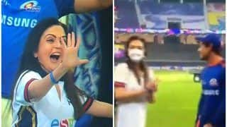 Nita Ambani Crashing Quinton De Kock-Nathan Coulter Nile's Interview After Mumbai Indians Win Record-Extending Fifth IPL Title | WATCH