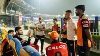 WATCH | Kohli Does a Dhoni, Passes Invaluable Tips to SRH Youngsters