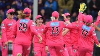 WBBL: Sydney Sixers Fined $25000 for 'Administrative Error'