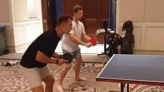 WATCH | Smith, Labuschagne Are Doubles Partners in Table Tennis in Bio Bubble