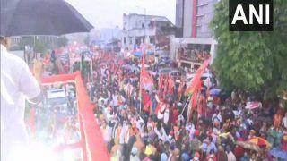 Latest News: Hyderabad में BJP अध्यक्ष का रोडशो, भीड़ देखकर नड्डा बोले- यहां अब भाजपा की बारी आई