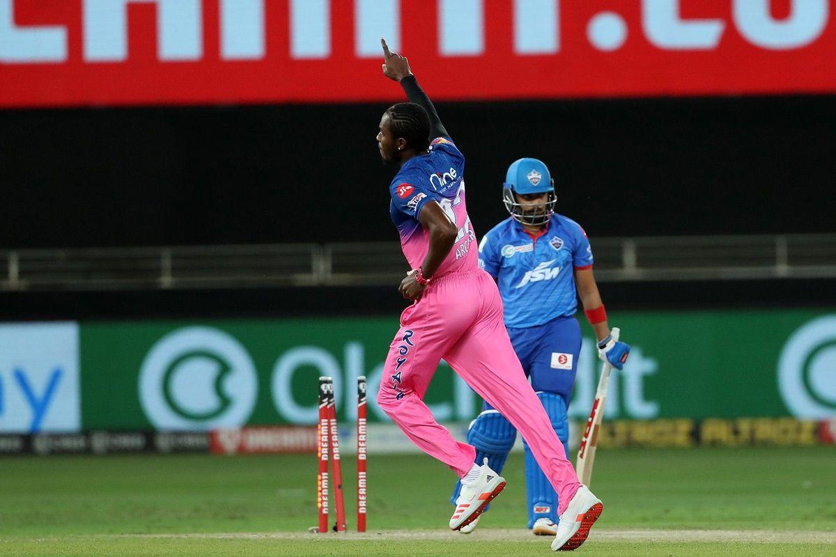 Jofra Archer Named IPL's MVP