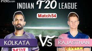 LIVE IPL 2020 KKR vs RR Scorecard, IPL Today's Match Live Cricket Score And Updates Online Match 54: Ben Stokes Inspired Rajasthan Eye Playoff Berth vs Struggling Kolkata