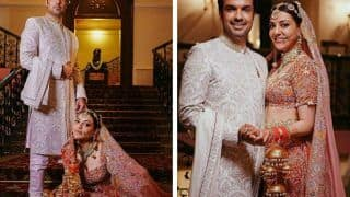 Kajal Aggarwal's Bridal Look Decoded: Actor Wears an Anamika Khanna Lehenga at Her Punjab-Meets-Kashmir Wedding