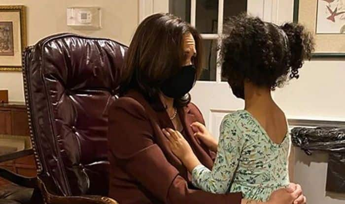 You Could Be President Kamala Harris Chat With 4 Year Old Grandniece Wins Netizens Hearts