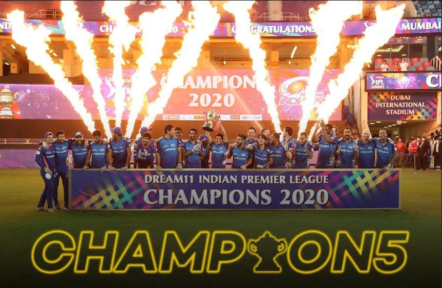 IPL 2008-2020: 13वें सीजन में पांचवीं बार विजेता बनी मुंबई; जानें सारी विजेती टीमों की के नाम