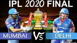 IPL 2020 FINAL Live Score MI vs DC 2020 Scorecard, LIVE IPL Score Match Today And Updates Online: Mighty Mumbai Aim For 'High Five', Delhi Target Maiden Title