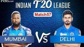 LIVE IPL 2020 MI vs DC Scorecard, IPL 2020 Match Today Live Score And Updates Online Qualifier 1: Little to Separate as Ambitious Delhi Take on Mighty Mumbai
