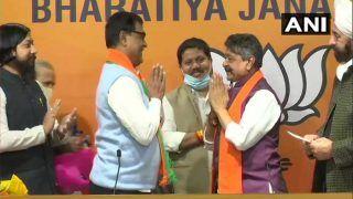 Latest News: टीएमसी MLA  मिहिर गोस्वामी ने BJP ज्वाइन की, ममता बनर्जी को झटका