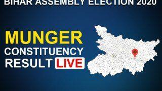 Munger Constituency Election Result LIVE: BJP's Pranav Kumar Leading, RJD's Avinash Kumar Trails