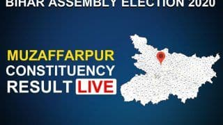 Muzaffarpur Assembly Constituency Result 2020 LIVE Updates: Sitting BJP MLA Suresh Kumar Sharma Not to Retain His Seat, Congress' Bijender Chaudhary Win