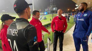NZ vs WI: बारिश के कारण तीसरा T20i रद्द, सीरीज कीवियों के नाम