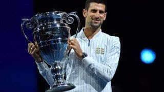 Tennis: Novak Djokovic Equals Pete Sampras' Record of Six Year-end No. 1 Trophies