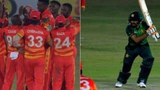 Pak vs zim babar azam century couldnt helps pakistan zimbabwe win 3rd odi in super over 4196577