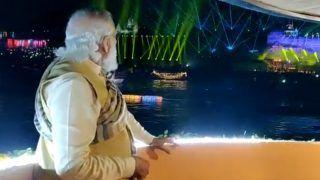 काशी: पीएम मोदी ने किया 'देव दीपावली' का आगाज: विपक्ष पर साधा निशाना, 'कुछ लोगों के लिये विरासत का मतलब परिवार से है'