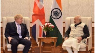 UK PM Johnson Speaks with PM Modi on COVID-19 Vaccines, Climate Change And Trade