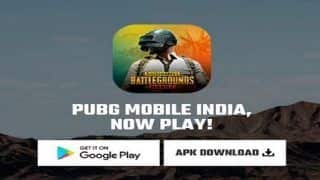 PUBG Mobile India APK Download Link Appears on Official Website | Check Details
