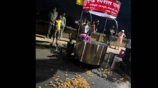 'Mumbai ke Special Pani Puri Wala': Kolhapur Vendor Caught Mixing Toilet Water in Street Food
