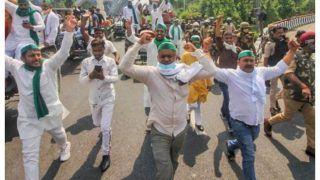 Massive Showdown Likely in Delhi on Nov 26 as Farmers Plan Protest Against Centre's Farm Laws