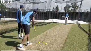 टेनिस रैकेट से केएल राहुल को बॉलिंग करा रहा ये भारतीय स्पिनर, देखें VIDEO